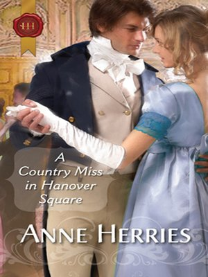 cover image of A Country Miss In Hanover Square